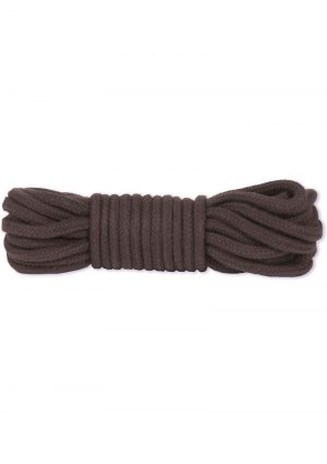 Japanese Style Bondage Rope Cotton 32 Feet Black