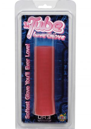 The Tube Love Glove UR3 Masturbator Pink