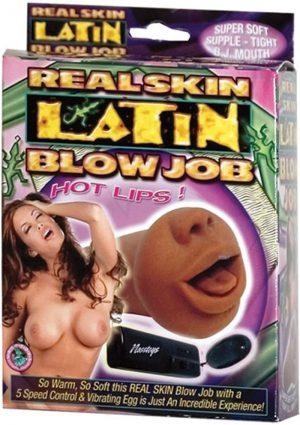 Real Skin Latin Blow Job Mouth Masturbator Flesh