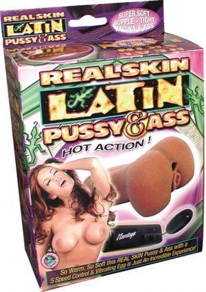 Real Skin Latin Pussy And Ass Masturbator Flesh