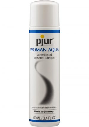 Pjur Eros Woman Water Based Liquid Lubricant 3.4 Ounce