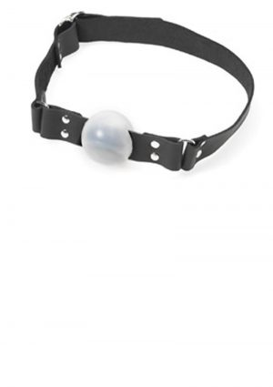 Large Ball Gag With Buckle 2 Inch Red