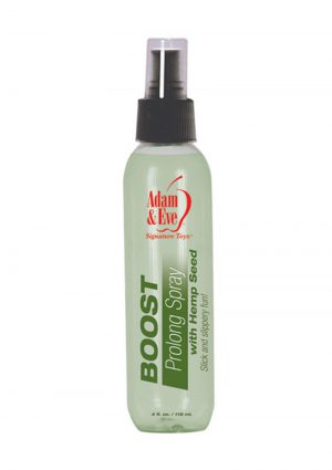 Adam and Eve Boost Prolong Spray With Hemp Seed 4 Ounce