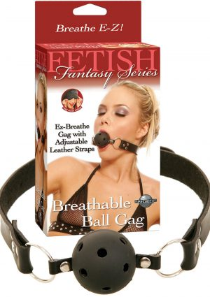 Fetish Fantasy Series Breathable Ball Gag Black