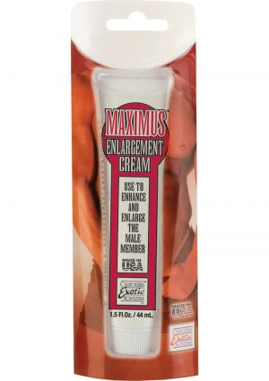 Maximus Enlargement Cream 1.5 Ounce