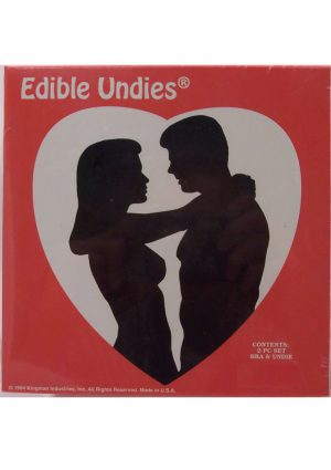 His And Hers Edible Undies 3 Piece Banana