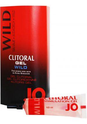 Jo Silicone Clitoral Stimulation Gel 10 mL Wild