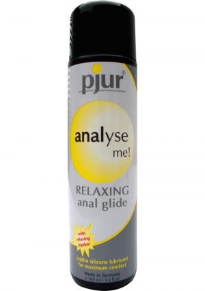 Pjur Analyse Me Relaxing Anal Glide Silicone Lubricant 3.4 Ounce