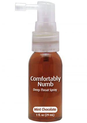Comfortably Numb Deep Throat Spray Mint Chocolate 1 Ounce