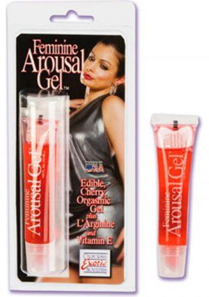 Feminine Arousal Gel Cherry .5 Ounce