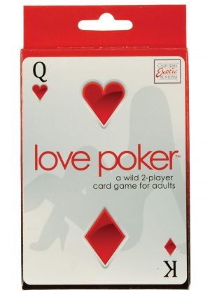 Love Poker A Wild 2 Player Card Game for Adults