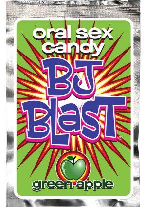BJ Blast Oral Sex Candy Green Apple