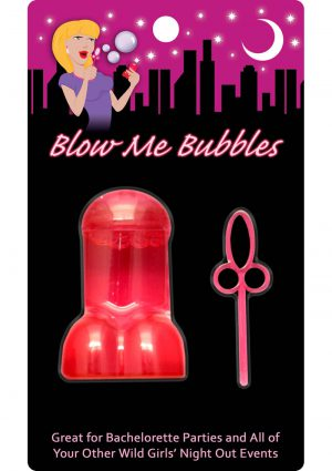 Blow Me Bubbles Penis Shaped