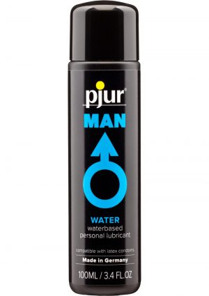 Pjur Man Basic Waterglide Water Based Lubricant 3.4 Ounce