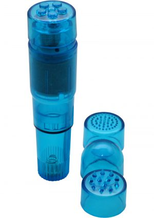 Sex In The Shower Mini Massager Waterproof Blue