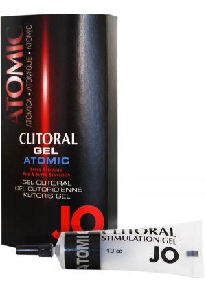 Jo Clitoral Gel Atomic Silicone 10cc