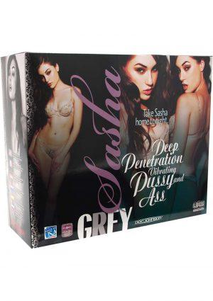 Sasha Grey UR3 Vibrating Pussy And Ass Flesh