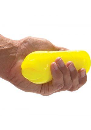 Glo Glo A Go Go Nuclear Lemon Mouth Stroker Waterproof Yellow