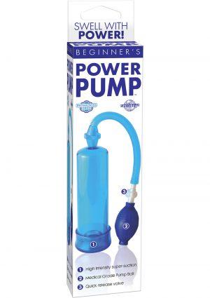 Beginners Power Pump Blue