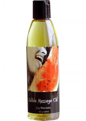 Edible Massage Oil Juicy Watermelon 8 Ounce