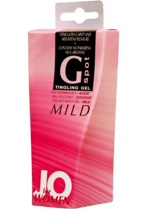 Jo Women G Spot Tingling Gel Mild 10 mL