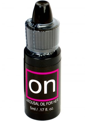 On Natural Arousal Oil For Her .17 Ounce