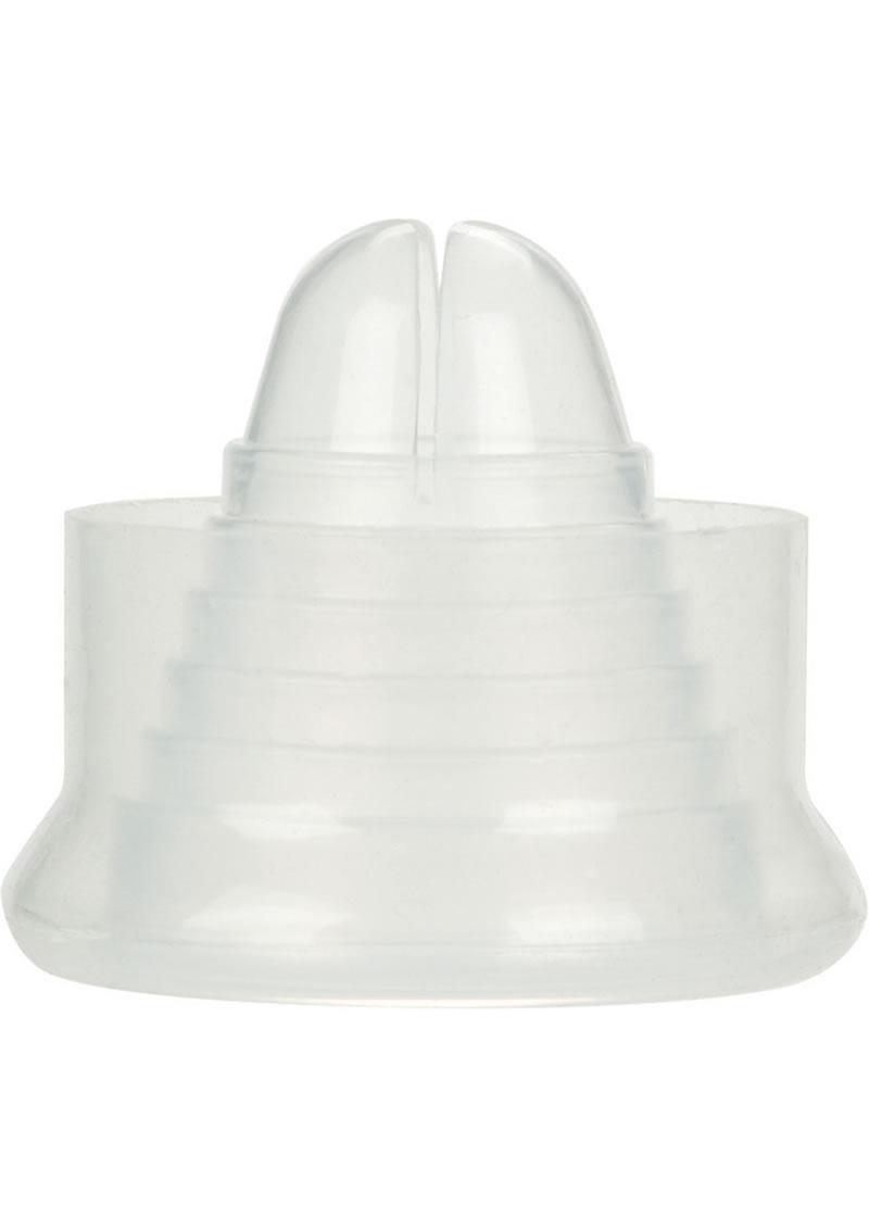 Precision pump silicone erection enhancer cock ring, smoke