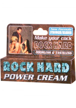 Rock Hard Power Cream .5 Ounce Tube