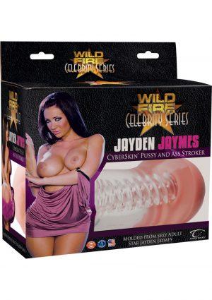 Wildfire Celebrity Jayden Jaymes Cyberskin Pussy And Ass Stroker Waterproof Flesh