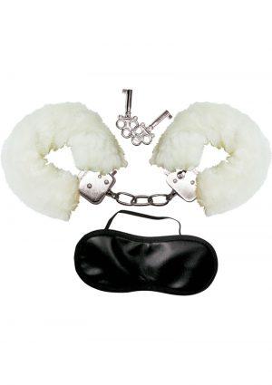 Dominant Submissive Love Cuffs White
