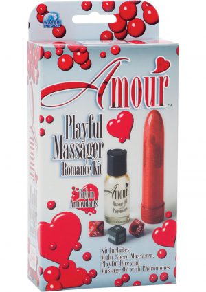Amour Playful Massager Romance Kit