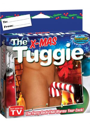 The Xmas Tuggie The Fuzzy Sock That Warms Your Cock