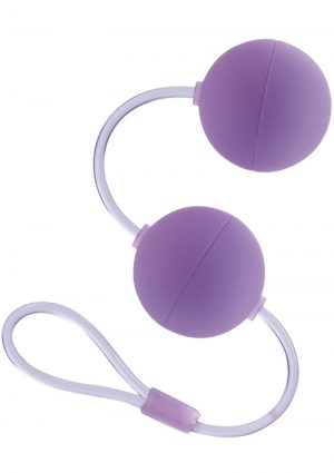 First Time Love Balls Duo Lover Perfectly Weighted For The Beginner Purple