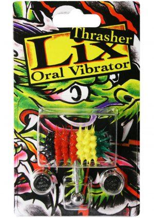 Lix Thrasher Oral Vibrator Rasta 1