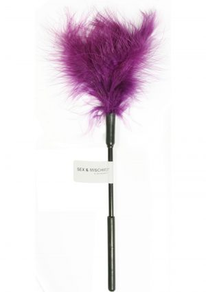 Sex And Mischief Feather Tickler Purple