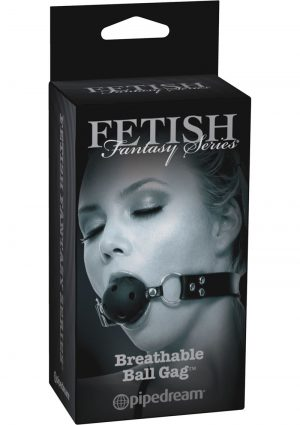 Fetish Fantasy Series Limited Edition Breathable Ball Gag Black