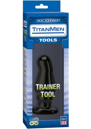 TitanMen Trainer Tool Number 5 Black 5.2 Inch