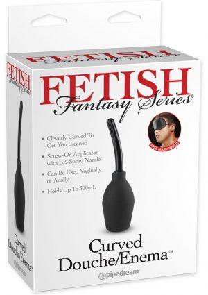 Fetish Fantasy Series Curved Douche Enema