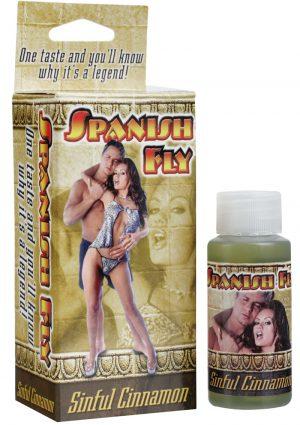 Spanish Fly Supplement Sinful Cinnamon 1 Ounce