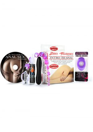 Come Hard Intro To Anal Kit How To DVD Vibrator Lube Combo