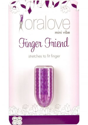 Oralove Mini Vibe Finger Friend Purple