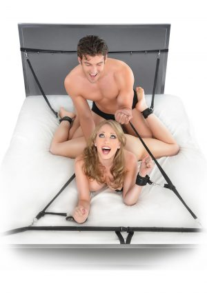 Fetish Fantasy Ultimate Bed Restraint System Black