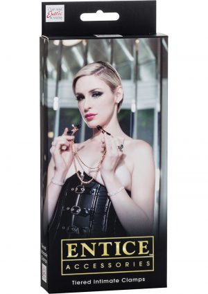 Entice Accessories Tiered Intimate Clamps