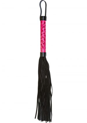 Sinful Whip Flogger Pink