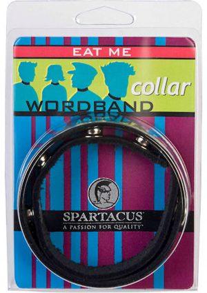 Wordband Collar Eat Me