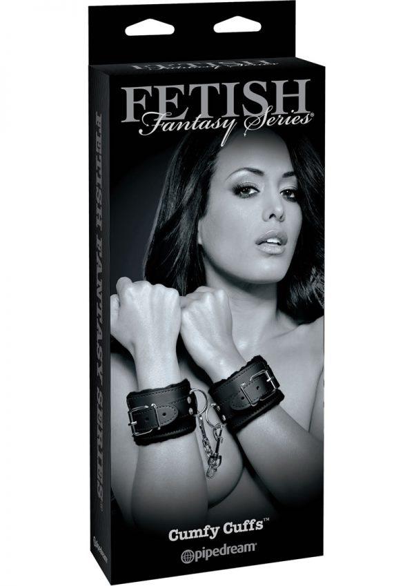 Fetish Fantasy Series Cumfy Cuffs Adjustable Black