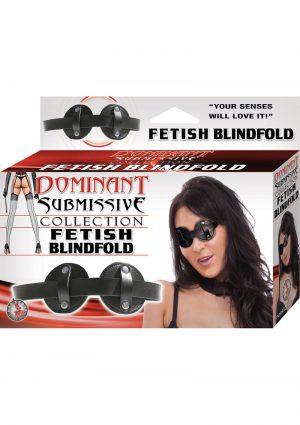 Dominant Submissive Collection Fetish Blindfold Black