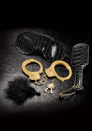 Fetish Fantasy Gold Beginner`s Fantasy Bondage Kit Black/Gold