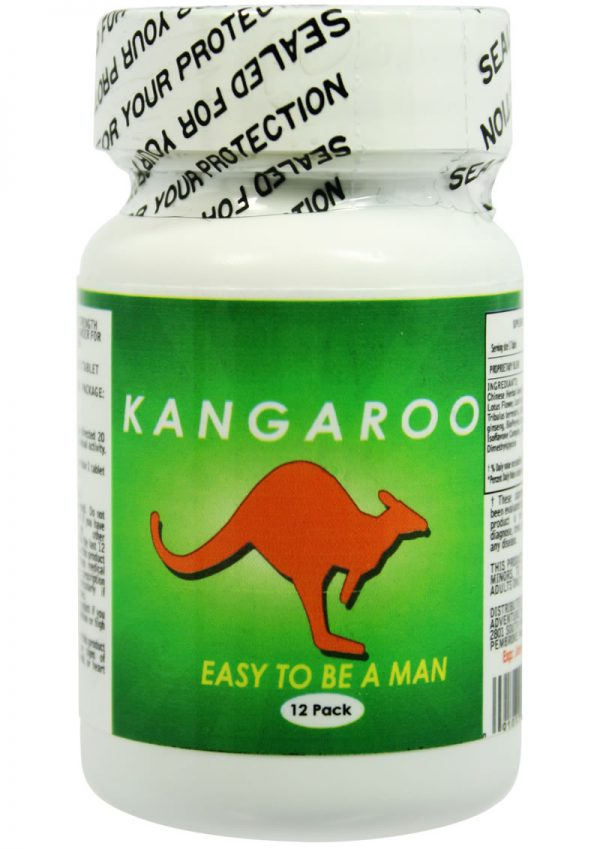 Kangaroo For Him Enhancement Pills 12 Each Per Bottle