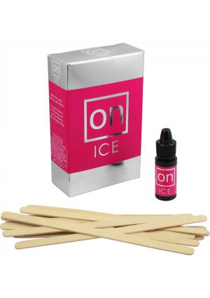On Ice Female Arousal Refill Kit 12 Bottles Each Per Kit With Tester Sticks